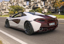 McLaren 570S Spider Canada Commission