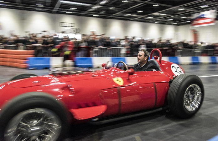 Nigel Mansell Brings The London Classic Car Show To A Grand Finale - London classic car show