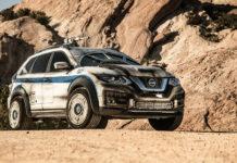 Nissan Rogue Star Wars Solo Show Car