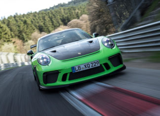 Porsche 911 GT3 RS Record at the Green Hell