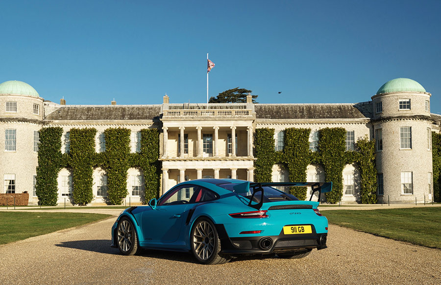 Automotive News Porsche Goodwood Marque