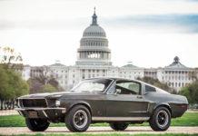 Steve McQueen Bullitt Mustang Center of Ford Mustang Anniversary