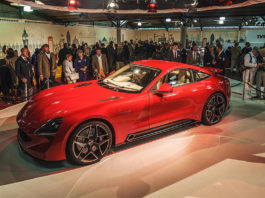 TVR Griffith London Motor Show