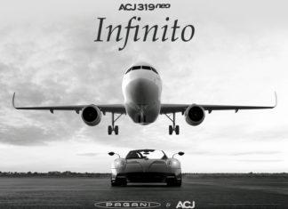 Pagani Airbus Jet Interior