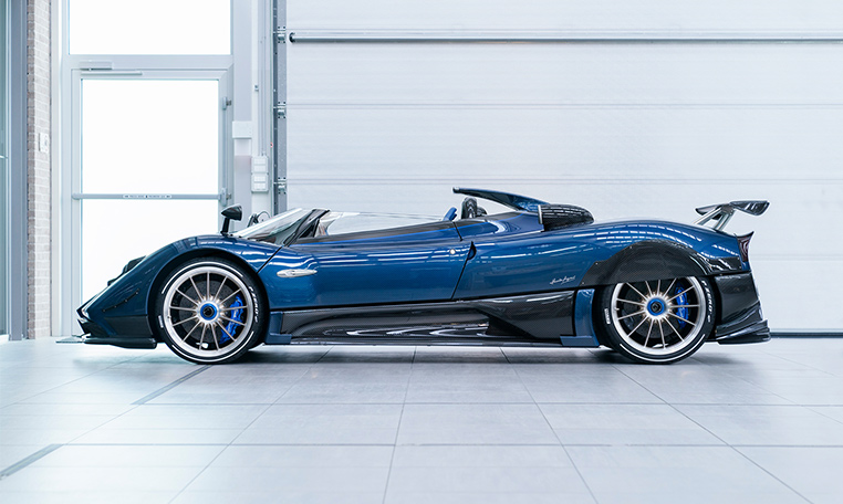 The Pagani Zonda Hp Barchetta