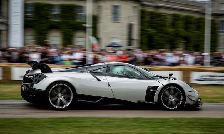 Pagani UK Wows at the 2017 Goodwood Festival of Speed