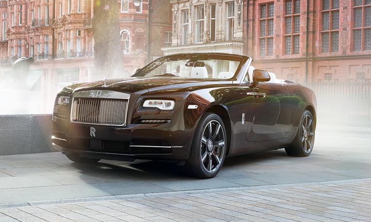 Unique 1 Of 1 Rolls Royce Dawn Mayfair Edition Showcased Berkeley Square Showroom