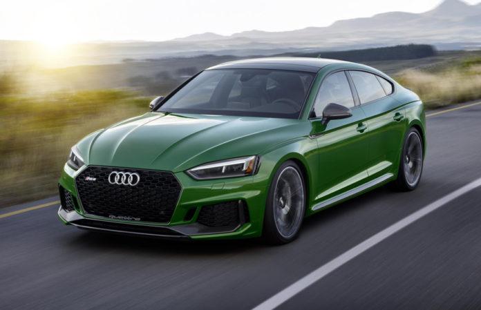 Audi RS 5 Sportback New York International Auto Show