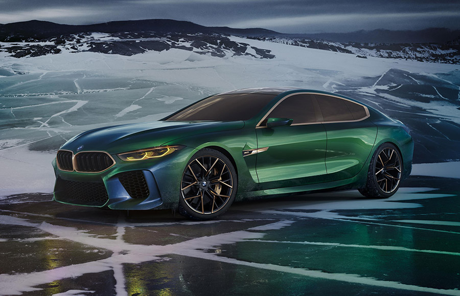 The Bmw Concept M8 Gran Coupe More Of Everything