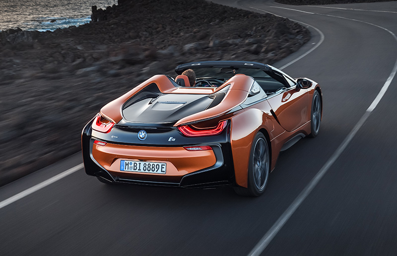 The First Ever 2019 Bmw I8 Roadster And New 2019 Bmw I8 Coupe