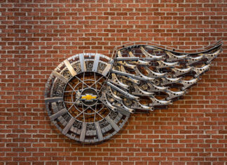 Chevrolet Winged Wheel Logo Tribute