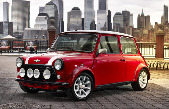 Classic Mini Electric Cooper NYIAS