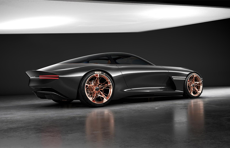 Automotive News Genesis Essentia Concept