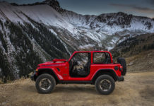 Jeep Wrangler Los Angeles Auto Show