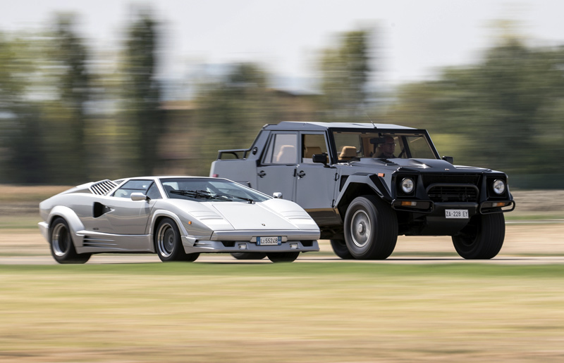A Look Back At The First Lamborghini Suv The Lm002