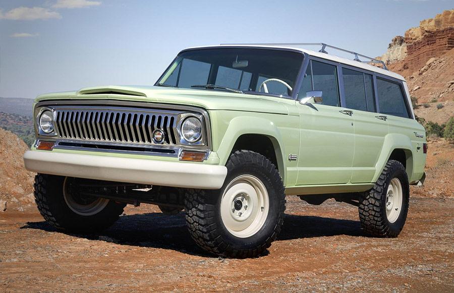 Moab Easter Jeep Safari Wagoneer