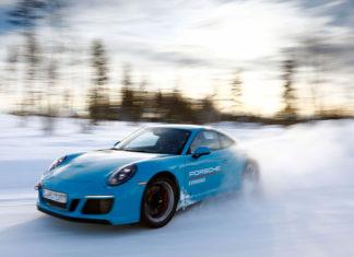 Porsche Ice Experience Levi Finland
