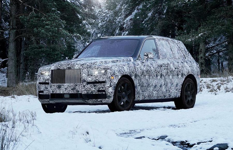 Automotive News Rolls-Royce Cullinan