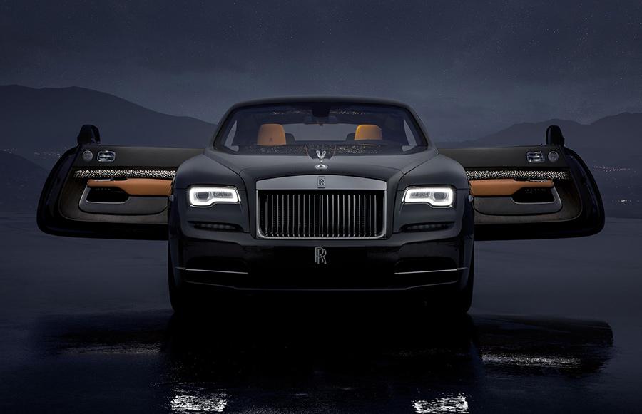 Automotive News Rolls-Royce Wraith Luminary Collection