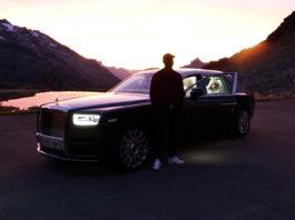 Skepta Rolls-Royce Phantom