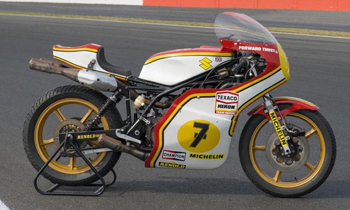 Barry Sheene Suzuki XR14
